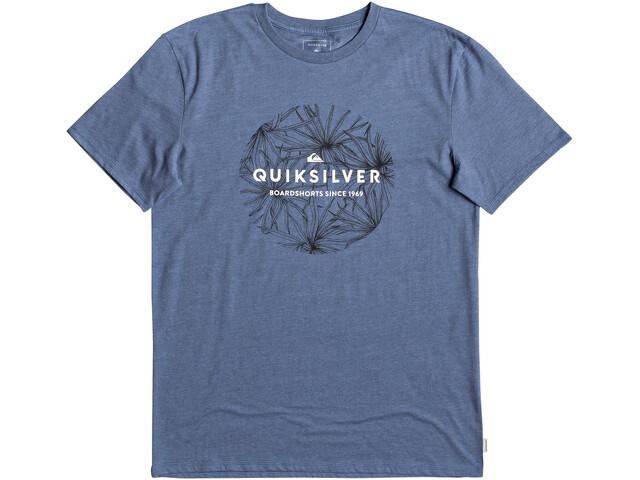 Quiksilver Classic Bob SS Tee Herren bijou blue heather